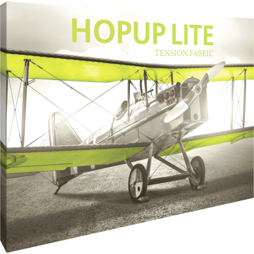 Hopup Lite 10ft Straight Full Height Tension Fabric Display
